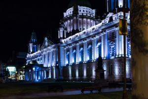 Belfast City Hall Night