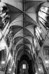 Looking Up at Saint Patrick's Cathedral